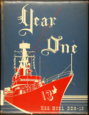 1963 Edition, Hoel (DDG 13) - Naval Cruise Book