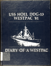 1981 Edition, Hoel (DDG 13) - Naval Cruise Book
