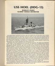 Page 5, 1983 Edition, Hoel (DDG 13) - Naval Cruise Book online yearbook collection