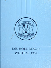 1985 Edition, Hoel (DDG 13) - Naval Cruise Book