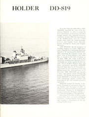 Page 9, 1968 Edition, Holder (DD 819) - Naval Cruise Book online yearbook collection