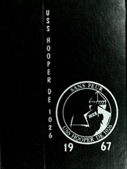 1967 Edition, Hooper (DE 1026) - Naval Cruise Book