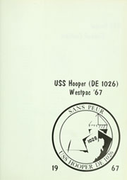 Page 5, 1967 Edition, Hooper (DE 1026) - Naval Cruise Book online yearbook collection