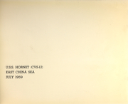 Page 9, 1959 Edition, Hornet (CVS 12) - Naval Cruise Book online yearbook collection