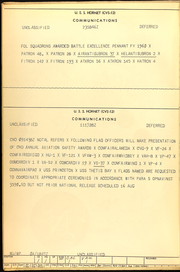Page 4, 1960 Edition, Hornet (CVS 12) - Naval Cruise Book online yearbook collection