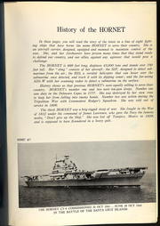 Page 9, 1960 Edition, Hornet (CVS 12) - Naval Cruise Book online yearbook collection