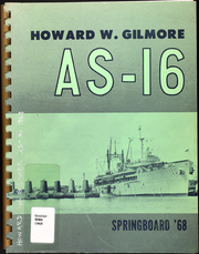 Page 1, 1968 Edition, Howard Gilmore (AS 16) - Naval Cruise Book online yearbook collection