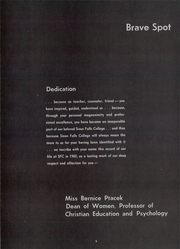 Page 8, 1960 Edition, Sioux Falls College - Sioux Brave Yearbook (Sioux Falls, SD) online yearbook collection