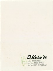 Page 5, 1948 Edition, Cal State Polytechnic College - El Rodeo Yearbook (San Luis Obispo, CA) online yearbook collection