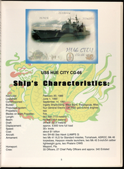 Page 7, 2006 Edition, Hue City (CG 66) - Naval Cruise Book online yearbook collection