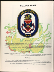 Page 8, 2006 Edition, Hue City (CG 66) - Naval Cruise Book online yearbook collection