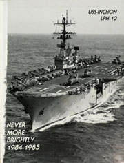 Page 5, 1985 Edition, Inchon (LPH 12) - Naval Cruise Book online yearbook collection