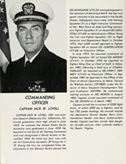 Page 8, 1985 Edition, Inchon (LPH 12) - Naval Cruise Book online yearbook collection