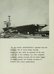 Page 14, 1966 Edition, Independence (CVA 62) - Naval Cruise Book online yearbook collection