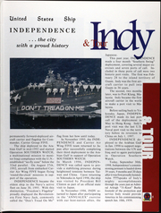 Page 10, 1998 Edition, Independence (CV 62) - Naval Cruise Book online yearbook collection