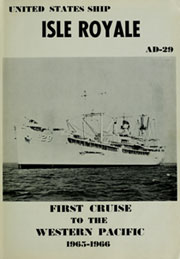 Page 5, 1966 Edition, Isle Royale (AD 29) - Naval Cruise Book online yearbook collection