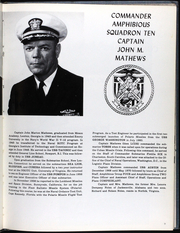Page 14, 1974 Edition, Iwo Jima (LPH 2) - Naval Cruise Book online yearbook collection