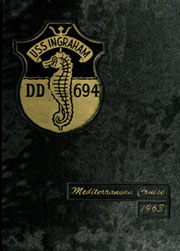 1963 Edition, Ingraham (DD 694) - Naval Cruise Book