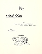 Page 14, 1900 Edition, Colorado College - Nugget Yearbook (Colorado Springs, CO) online yearbook collection