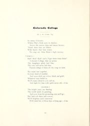 Page 14, 1905 Edition, Colorado College - Nugget Yearbook (Colorado Springs, CO) online yearbook collection
