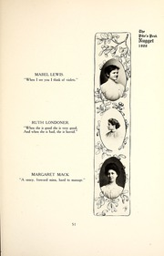 Page 55, 1907 Edition, Colorado College - Nugget Yearbook (Colorado Springs, CO) online yearbook collection