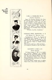 Page 70, 1907 Edition, Colorado College - Nugget Yearbook (Colorado Springs, CO) online yearbook collection