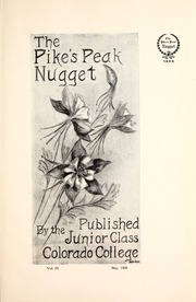 Page 11, 1908 Edition, Colorado College - Nugget Yearbook (Colorado Springs, CO) online yearbook collection