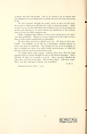 Page 10, 1909 Edition, Colorado College - Nugget Yearbook (Colorado Springs, CO) online yearbook collection