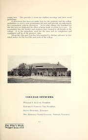 Page 17, 1909 Edition, Colorado College - Nugget Yearbook (Colorado Springs, CO) online yearbook collection