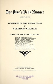 Page 5, 1909 Edition, Colorado College - Nugget Yearbook (Colorado Springs, CO) online yearbook collection