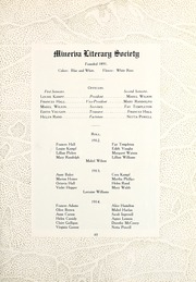 Page 59, 1912 Edition, Colorado College - Nugget Yearbook (Colorado Springs, CO) online yearbook collection