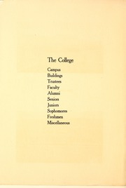 Page 16, 1913 Edition, Colorado College - Nugget Yearbook (Colorado Springs, CO) online yearbook collection