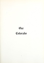 Page 13, 1918 Edition, Colorado College - Nugget Yearbook (Colorado Springs, CO) online yearbook collection