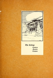Page 13, 1923 Edition, Colorado College - Nugget Yearbook (Colorado Springs, CO) online yearbook collection