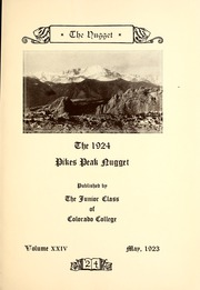 Page 7, 1923 Edition, Colorado College - Nugget Yearbook (Colorado Springs, CO) online yearbook collection