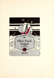 Page 5, 1933 Edition, Colorado College - Nugget Yearbook (Colorado Springs, CO) online yearbook collection