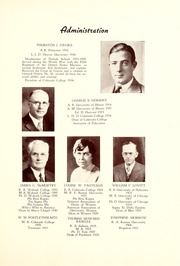 Page 15, 1937 Edition, Colorado College - Nugget Yearbook (Colorado Springs, CO) online yearbook collection