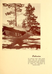 Page 7, 1945 Edition, Colorado College - Nugget Yearbook (Colorado Springs, CO) online yearbook collection
