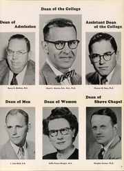 Page 13, 1956 Edition, Colorado College - Nugget Yearbook (Colorado Springs, CO) online yearbook collection