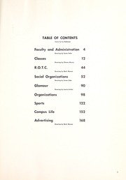 Page 7, 1958 Edition, Colorado College - Nugget Yearbook (Colorado Springs, CO) online yearbook collection