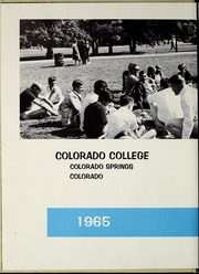 Page 6, 1965 Edition, Colorado College - Nugget Yearbook (Colorado Springs, CO) online yearbook collection