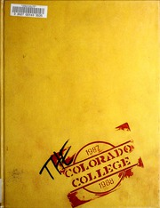 Page 1, 1988 Edition, Colorado College - Nugget Yearbook (Colorado Springs, CO) online yearbook collection
