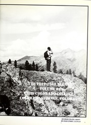 Page 5, 1988 Edition, Colorado College - Nugget Yearbook (Colorado Springs, CO) online yearbook collection