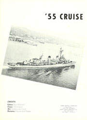 Page 5, 1955 Edition, Isherwood (DD 520) - Naval Cruise Book online yearbook collection