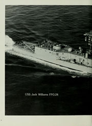 Page 6, 1983 Edition, Jack Williams (FFG 24) - Naval Cruise Book online yearbook collection
