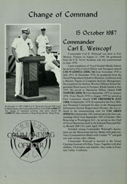 Page 10, 1987 Edition, Jarrett (FFG 33) - Naval Cruise Book online yearbook collection