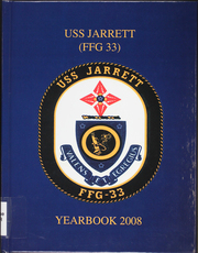 2008 Edition, Jarrett (FFG 33) - Naval Cruise Book