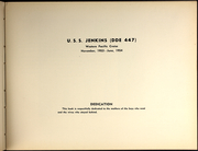 Page 5, 1954 Edition, Jenkins (DDE 447) - Naval Cruise Book online yearbook collection