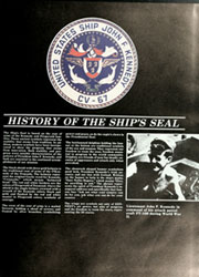Page 11, 1984 Edition, John F Kennedy (CV 67) - Naval Cruise Book online yearbook collection