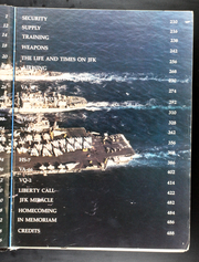 Page 9, 1987 Edition, John F Kennedy (CV 67) - Naval Cruise Book online yearbook collection